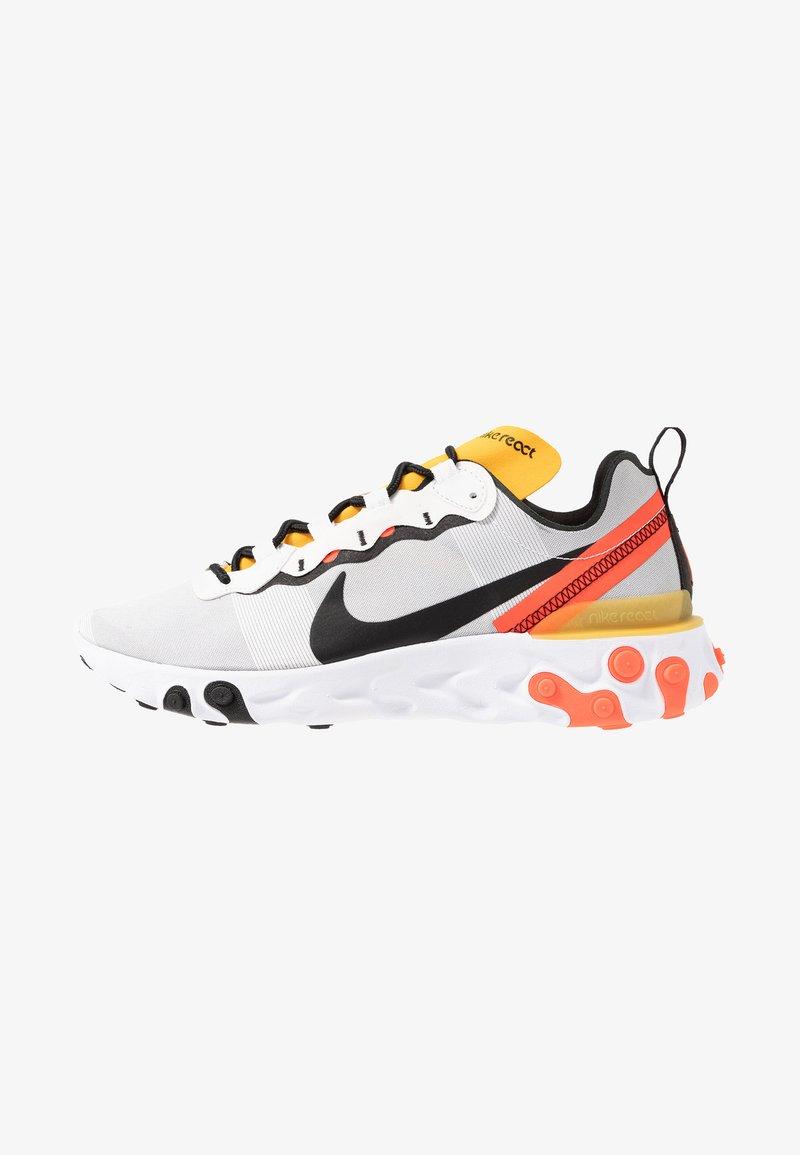 Nike Sportswear - REACT - Sneakersy niskie - white/black/bright crimson/universe gold