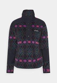 Columbia - BENTON SPRINGS™ CROP - Fleecepullover - plum blanket/dark nocturnal - 0