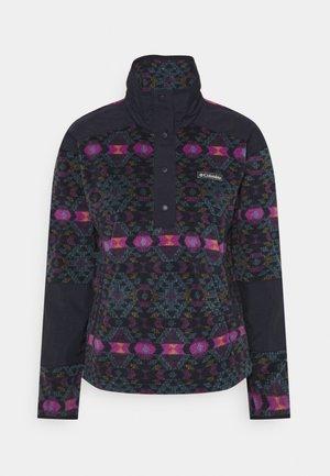 BENTON SPRINGS™ CROP - Fleecepullover - plum blanket/dark nocturnal