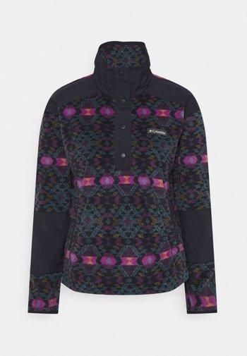 BENTON SPRINGS™ CROP - Felpa in pile - plum blanket/dark nocturnal