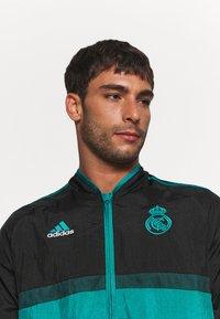 adidas Performance - REAL MADRID ICON - Training jacket - black - 4