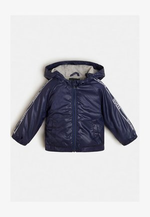 LOGO SEITLICH - Light jacket - blau