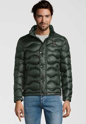 MIT WELLENSTEPPUNG - Down jacket - green bottle