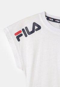 Fila - CLARA FASHION  - Print T-shirt - bright white - 2
