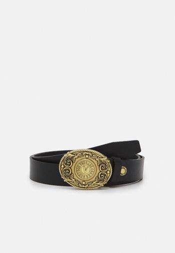 CINTURA UNISEX - Belt - nero/oro