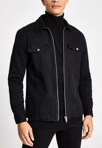 River Island - Denim jacket - black - 0