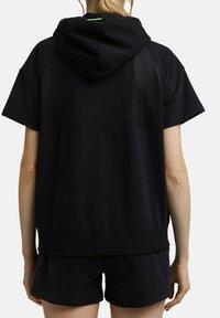 Esprit Sports - Zip-up sweatshirt - black - 2