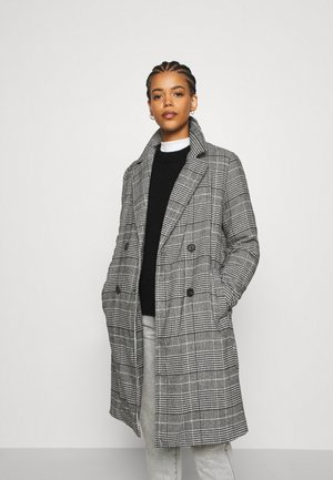 ONLARABELLA COAT - Cappotto classico - black/cloud dancer