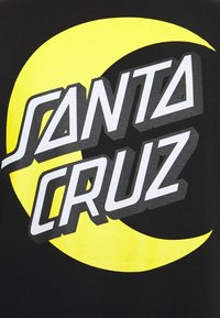 Santa Cruz - UNISEX MOON DOT  - T-shirt con stampa - black - 2