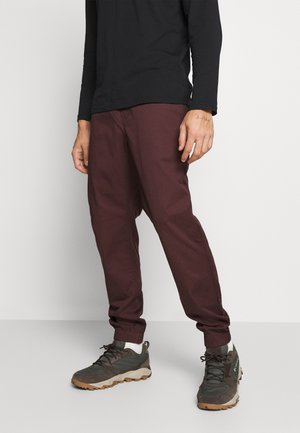 NOTION PANTS - Tygbyxor - port