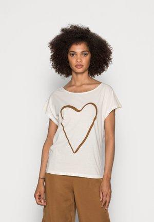 SHORT SLEEVE - Basic T-shirt - summer taupe