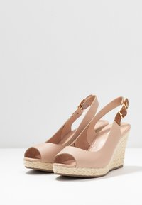 Dune London WIDE FIT - WIDE FIT KICKS  - Sandalias de tacón - blush - 4