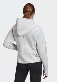 adidas Performance - ADIDAS Z.N.E. HOODIE - Zip-up hoodie - grey - 1