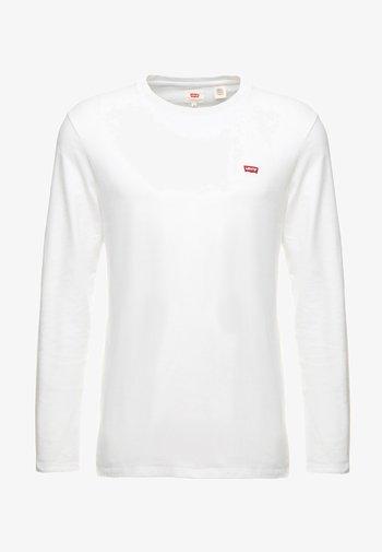 ORIGINAL TEE - Long sleeved top - white