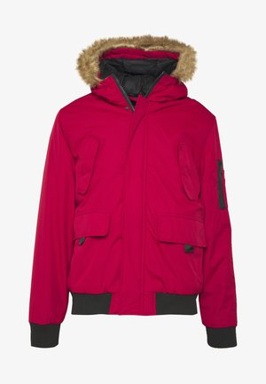 RICHARDS CROP PARKA - Light jacket - red