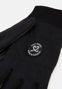 Daily Sports - ELLA GLOVE WITH LOGO - Gloves - black - 2