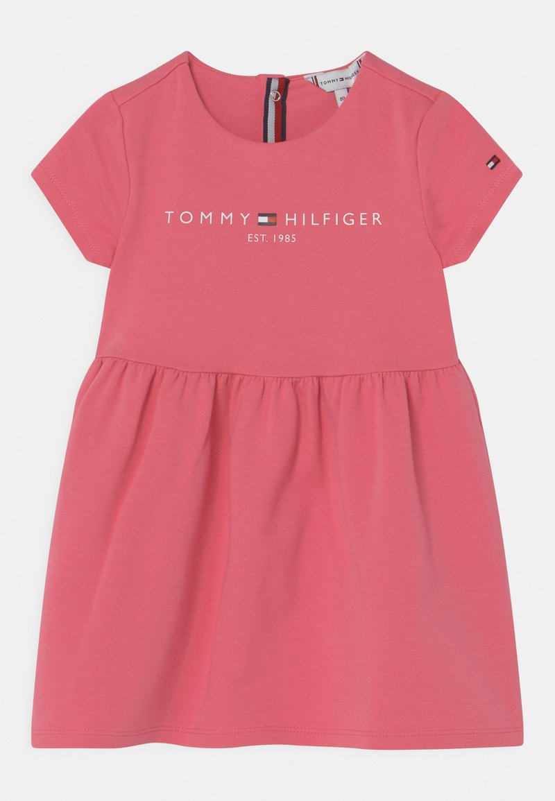 Tommy Hilfiger - BABY ESSENTIAL  - Jersey dress - exotic pink