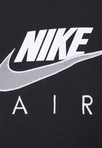 Nike Sportswear - AIR HOODIE - Hoodie - black/white - 4