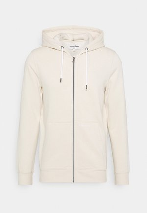 HOODY JACKET  - Mikina na zip - light almond