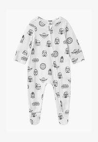Cotton On - LUCASFILMS STAR WARS LONG SLEEVE ZIP UNISEX - Sleep suit - white - 0