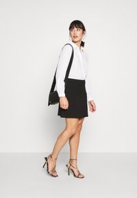 Even&Odd Petite - A-line skirt - black - 1