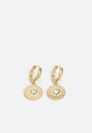 WITH LOVE - Earrings - gold-coloured