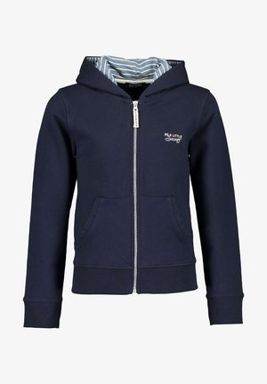 Zip-up sweatshirt -  nachtblau