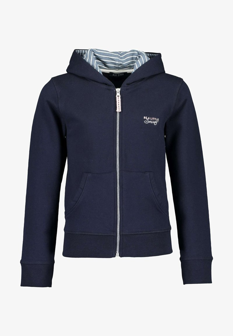 Blue Seven - BE SASSY - Sweater met rits -  nachtblau