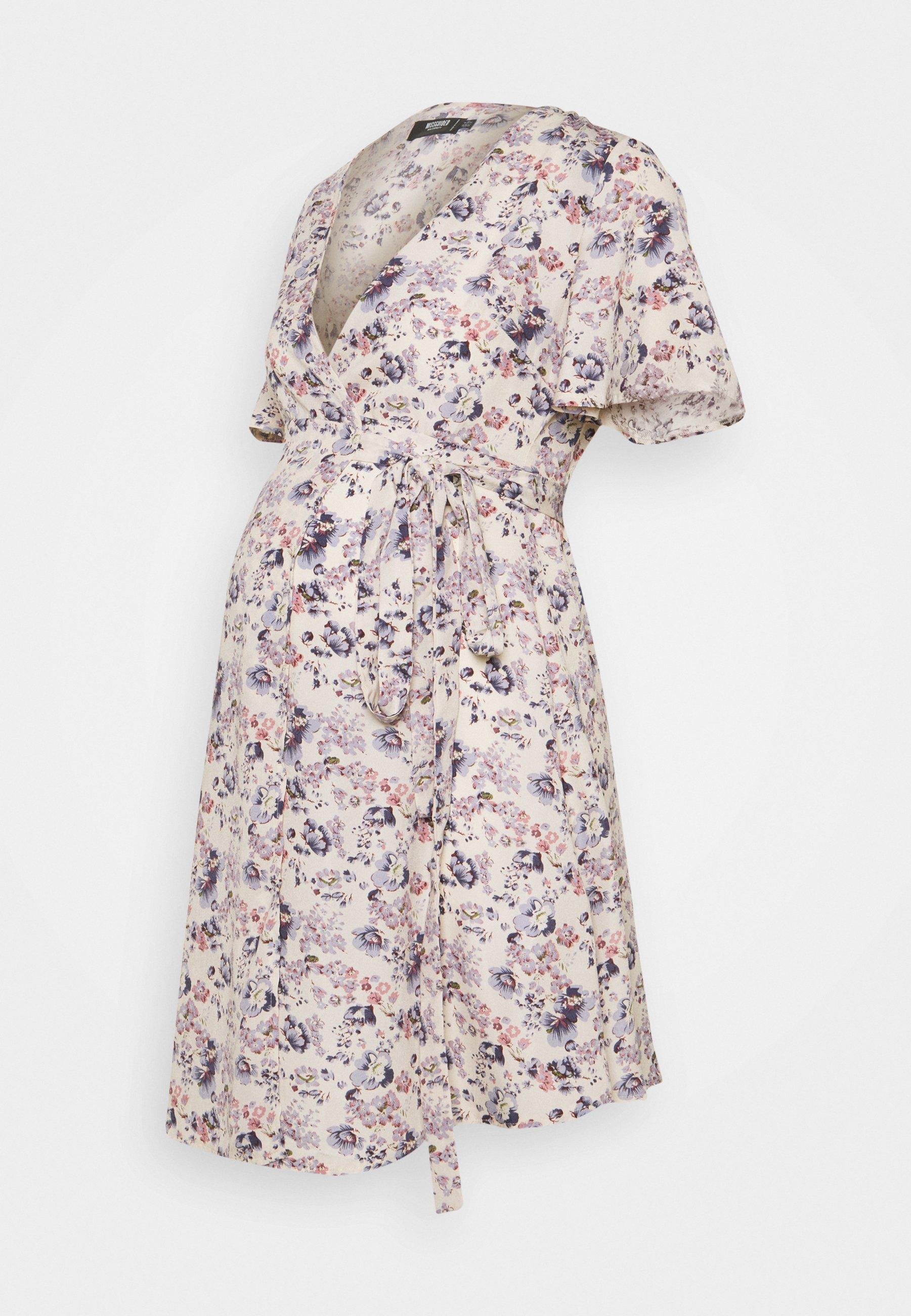 Women MATERNITY TIE FRONT DRESS - Day dress