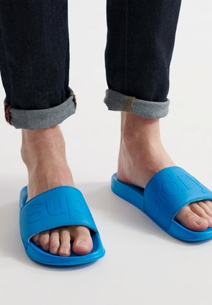 CITY NEON POOL SLIDE - Mules - electric blue
