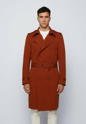 Trench - open brown