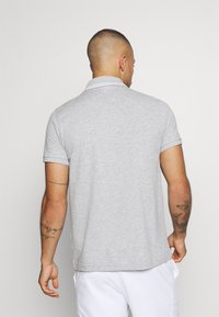 Lacoste Sport - DETAILED COLLAR - Polo - silver chine/white - 2
