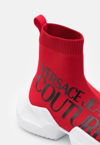 Versace Jeans Couture - High-top trainers - red - 5