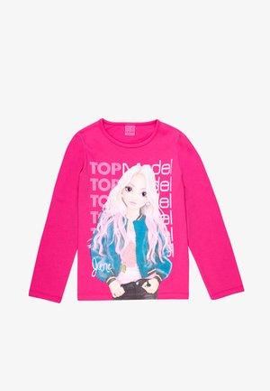 TOP MODEL - Print T-shirt - pink
