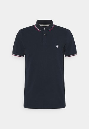 SHORT SLEEVE CONTRAST TIPPING - Polo shirt - total eclipse