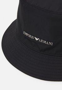 Emporio Armani - CLOCHE HAT UNISEX - Klobouk - black - 4