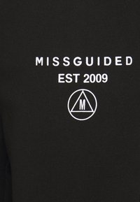 Missguided Petite - SLOGAN JOGGER - Verryttelyhousut - black - 2