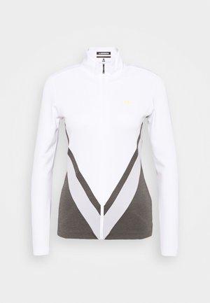 SHANNON - Fleece jacket - thyme green melange
