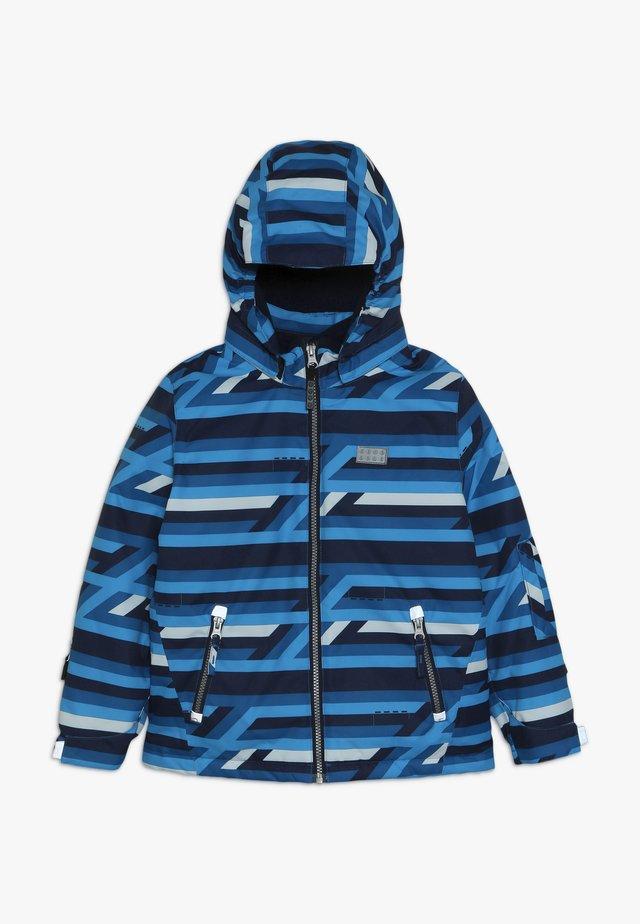 JACKET 723 JACKET - Ski jacket - blue