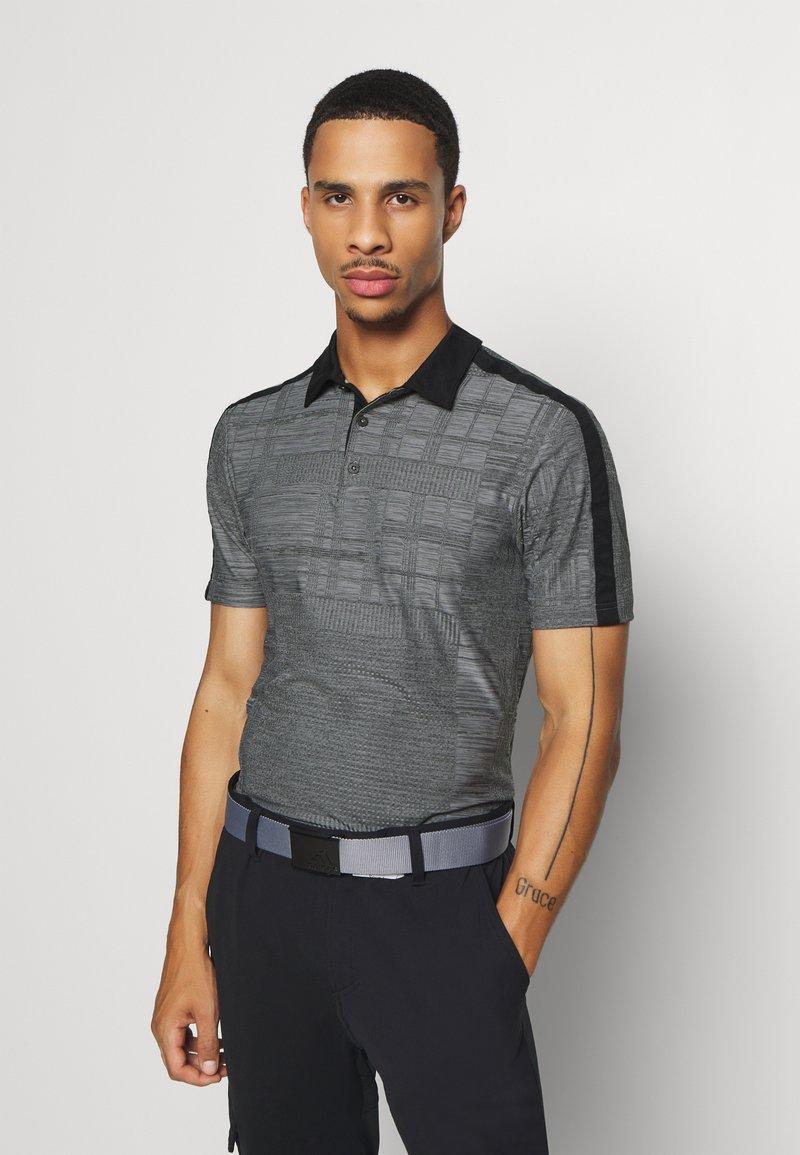 adidas Golf - ADICROSS SHORT SLEEVE - Polotričko - black