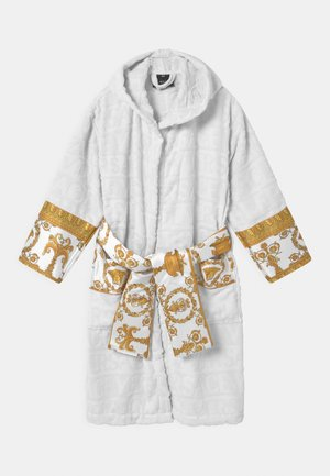 BATH UNISEX - Župan - white/gold