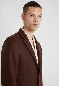 PS Paul Smith - OVERCOAT - Płaszcz wełniany /Płaszcz klasyczny - brown - 3