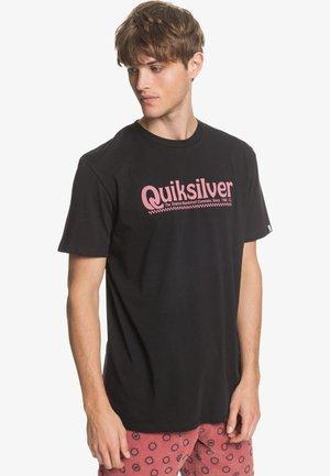 NEW SLANG - Print T-shirt - black
