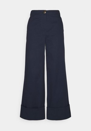 NUBOXY PANT - Trousers - dark sapphire