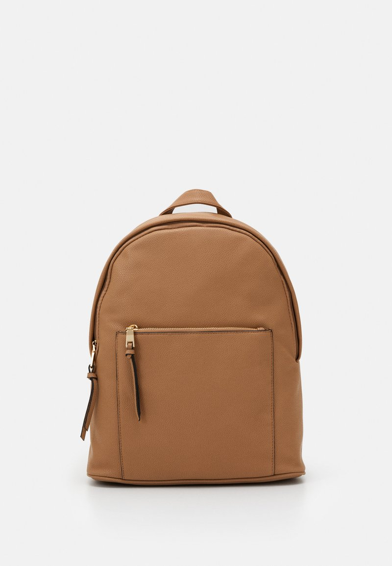 New Look - CLIVE ZIP AROUND BACKPACK - Ryggsekk - camel