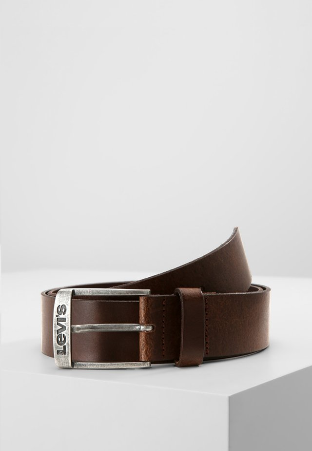 NEW DUNCAN - Belt - dark brown