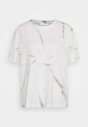 MAINTIE DYE - Print T-shirt - ecru