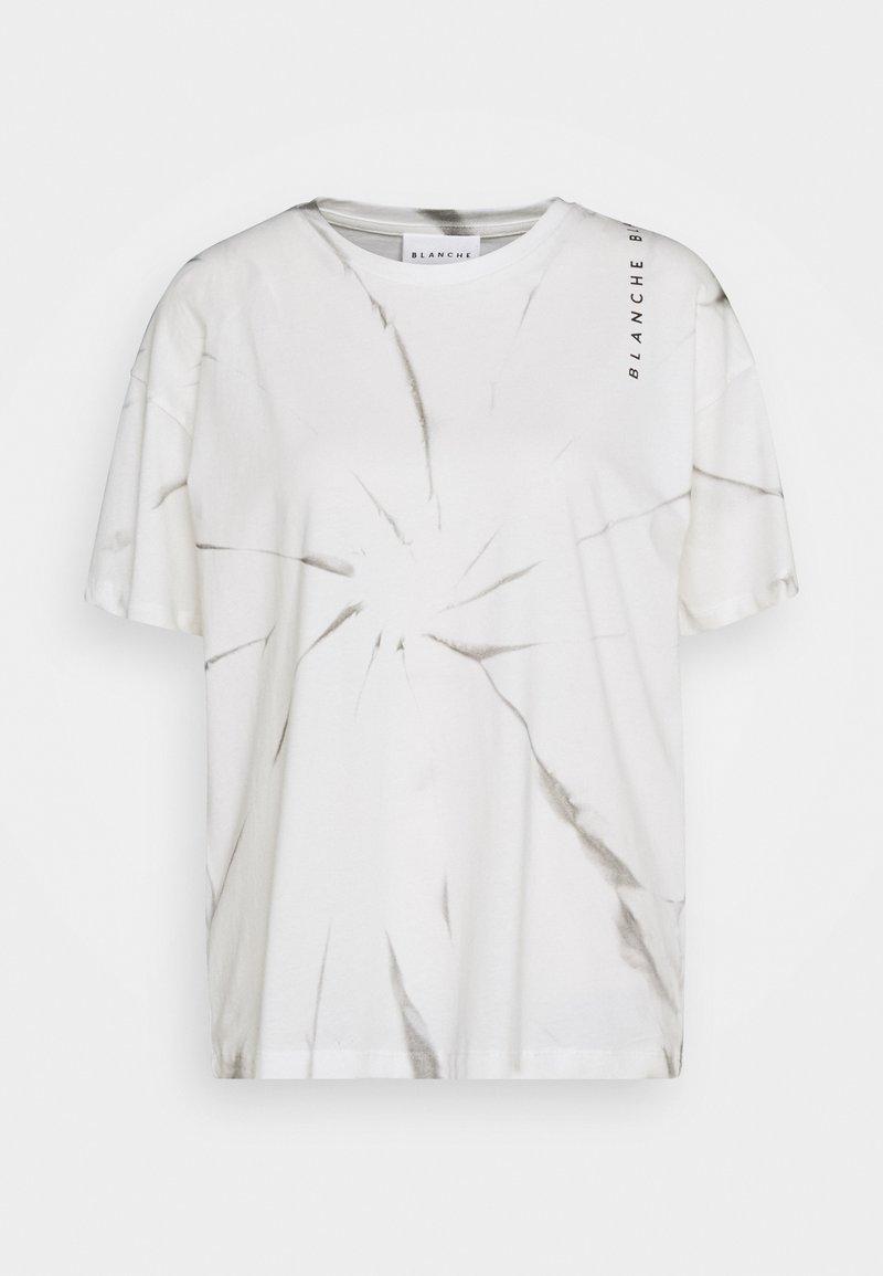 BLANCHE - MAINTIE DYE - T-shirt imprimé - ecru