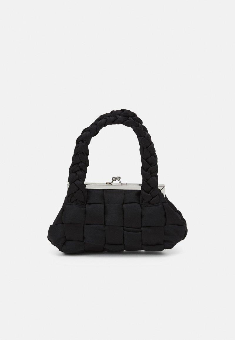 Topshop - WEAVE GRAB - Handbag - black