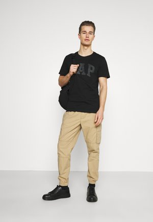 BASIC ARCH 2 PACK - T-shirt con stampa - true black